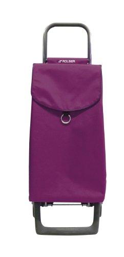 Rolser PAR001 Joy Pep - Carrito de Compra (Plegable, 35 x 30 x 97,5 cm, Capacidad: 45 L, Carga máxima: 40 kg), Color Rojo