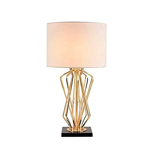 GJHK Lámpara de escritorio LED lámparas de mesa de metal para dormitorio sala de estar lámpara de noche luces de escritorio decoración LAMP-