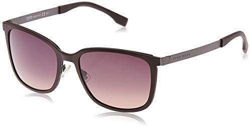 Hugo Boss BOSS0723S-KDMR4-56 HUGO BOSS Sonnenbrille BOSS0723S-KDMR4-56 Rechteckig Sonnenbrille 56, Braun