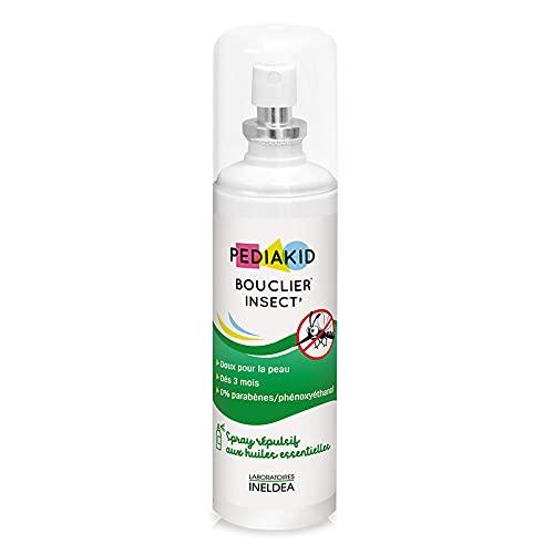 PEDIAKID - Bouclier Insect- Spray Répulsif Anti-Moustique -