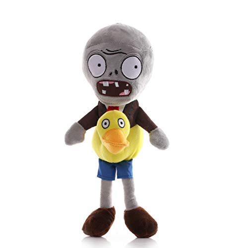 Missyou Plantas contra Zombis Personaje De Juego Pato Pato Zombie Peluche 30 Cm, Regalos De Cumpleaños para Niños, Habitación Bellamente Decorada