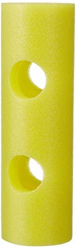 Leisis 0101027 Conector de macarrones, Amarillo, 32 x 10 x 10 cm