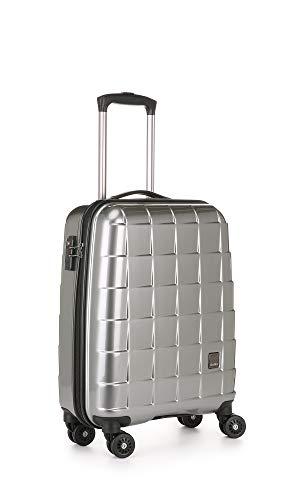 Antler Camden C1 Cabin, 4 Wheel Spinner Hand Luggage, 55 cm, 37 liters;,Silver