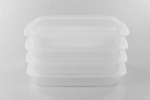 TUPPERWARE Cool`N Fresh 700 ml (4) Behälter A170 Coolsmart P 22227