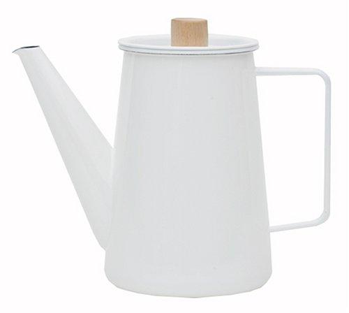 Japan Kaico Horo(Enamelware) Coffee Pot Makoto Koizumi Design