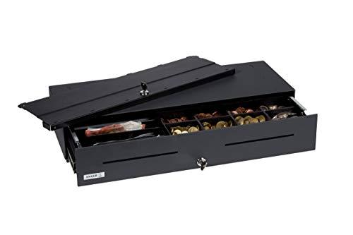 ANKER Tiroir-Caisse MDS 54 | modèle court-large plus | avec couvercle, coin cups