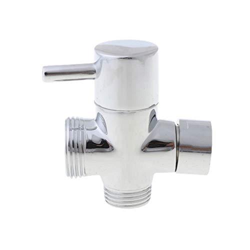 XJJZS 1/4 3 vías Adaptador de Grifo Válvula de desviador Top de la válvula para el Cabezal de la Ducha de Mano Caída del Grifo del Grifo del Grifo Outlet