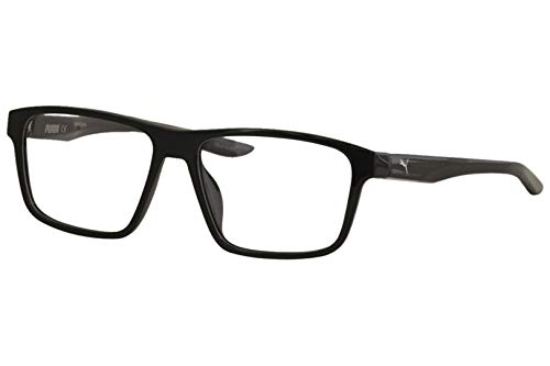 lentes armazon negro fabricante PUMA