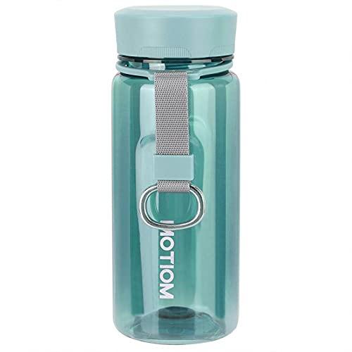 Gmkjh Taza de Agua, Taza de Espacio, Taza de Agua portátil Personal de 400 ml, Botella de Espacio para Deportes, Taza para Beber al Aire Libre(Verde)