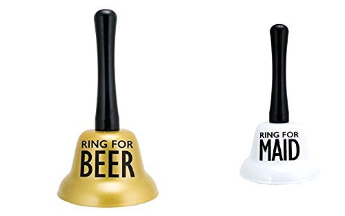 About Face Designs Ring for Beer and Ring for Maid 2 Pc. Set