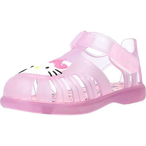 IGOR S10268022 Chancla Agua Rosa Hello Kitty Velcro