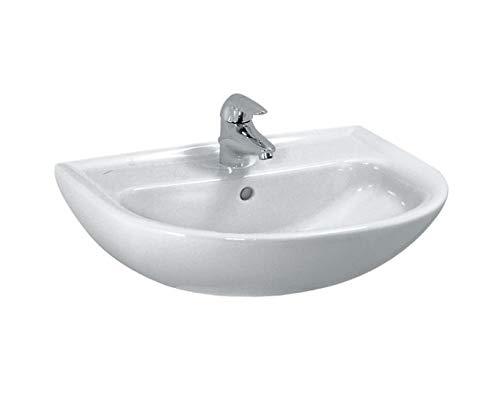Laufen Handwaschbecken Laufen PRO B CLINIC ohne Hahnloch ÜL-Kanal unten geschl.450x330 weiß, 8159520001421