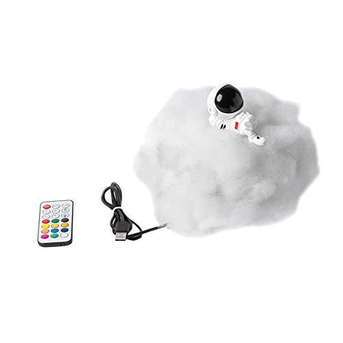 #N/a Luces de noche recargables USB para niñas niños lámpara de noche estilo astronauta de dibujos animados con función de Control remoto dormitorio - Dormir