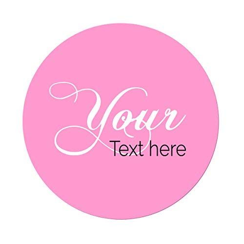 Your Text or Logo Here 45 Pack Short Run Boxes for Them 2 Inches for Presents Die Cut Personalized Vinyl Stickers 2in X 2in Custom Made Any Name Promotional Gifts for Him for Her Favors