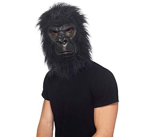 Smiffy's Máscara de Gorila Negro para Adultos