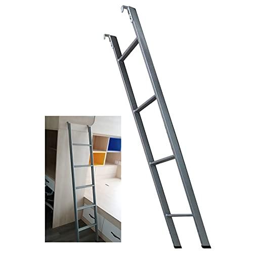 Escalera Cama Litera Escalera de Litera Extra Alta para Niños / Adolescentes, Escalera de Litera Doble de Paso de Metal Resistente, Diseño Que Ahorra Espacio, Se Puede Conectar y Desconectar, Carga 22
