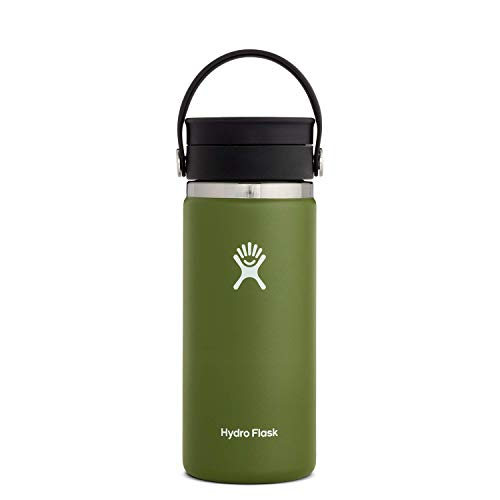 Hydro Flask Stainless Steel Coffee Travel Mug  16 oz Olive