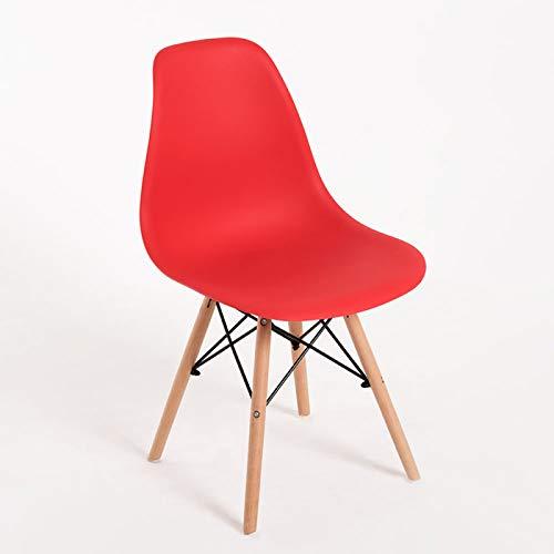 Regalos Miguel - Sillas Comedor - Silla Tower Basic - Rojo - Envío Desde España