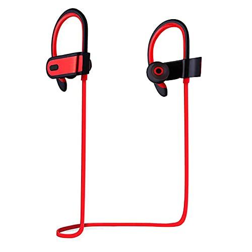 Bluetooth-Kopfhörer, Sport-Wireless-Kopfhörer Leichte In-Ear-Kopfhörer mit 4.1-Mikrofon mit Geräuschunterdrückung, Bluetooth-Headset mit Musik-Player zum Joggen