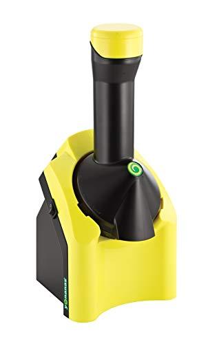 Yonanas - Frigorifero classico con frutta naturale, colore: giallo e nero