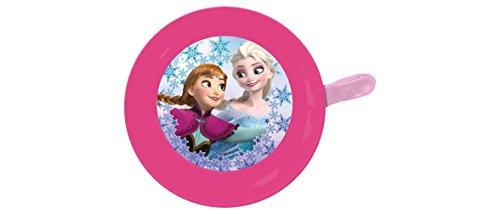 Disney Frozen Metall Fahrradklingel mit Schraubbefestigung Kinder, Rosa