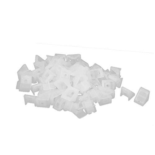X-Dr Schrank Schrank Kunststoff Winkel Eckwinkelverbinder Weiß 20x18x20mm 50St (ba753aa1d6633379d35abc20fea149b4)