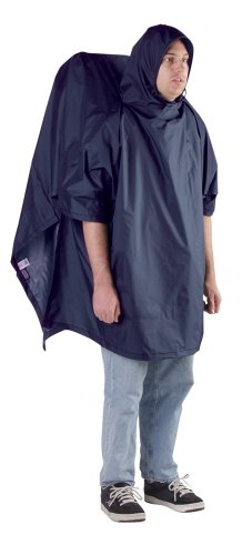 Outdoor Products Backpacker Poncho, Navy