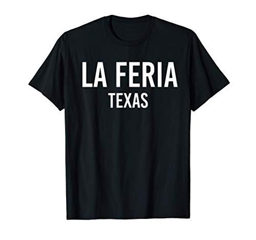 LA FERIA TEXAS TX USA Patriotic Vintage Sports T-Shirt