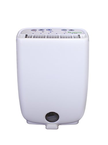 Meaco Portable Compact Dehumidifier Desiccant - Ideal for cold damp conditions as heats as it dehumidifies