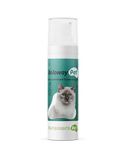 DYNAMOPET BenesserePet Boloway, Ergänzungsfuttermittel in Paste 65 gr, fördert die Beseitigung von Katzenboli, Katzenhaarentfernungsfutter, Paste zum Entfernen von Boli