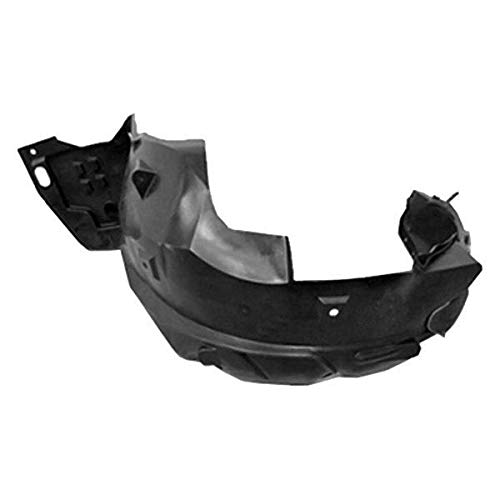 New Front Left Driver Side Fender Liner For 2012-2012 Honda Civic Coupe Fits Coupe All Ex/Si Models, Made Of Plastic HO1248154