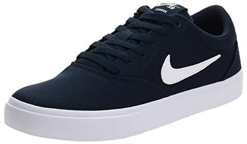 Nike SB Charge, Zapatillas Hombre, Obsidian/White, 45 EU