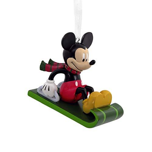 Hallmark Christmas Ornament, Disney Mickey Mouse on Sled