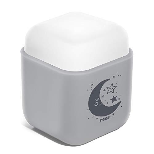 reer SleepLight 2in1 Nachtlicht für die Steckdose und mit Akkubetrieb, cool grey