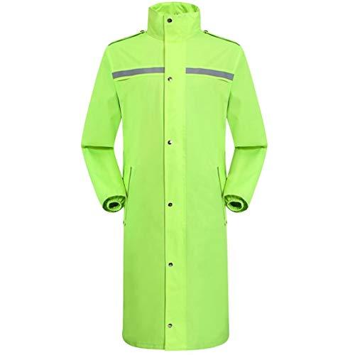 YDS Shop Regenjas voor dames en heren, eendelige lange knoop-windbreaker/de verlenging verhoogt de bruikbaarheid, het verzamelen in de open lucht, de motorfiets wandelend XX-Large