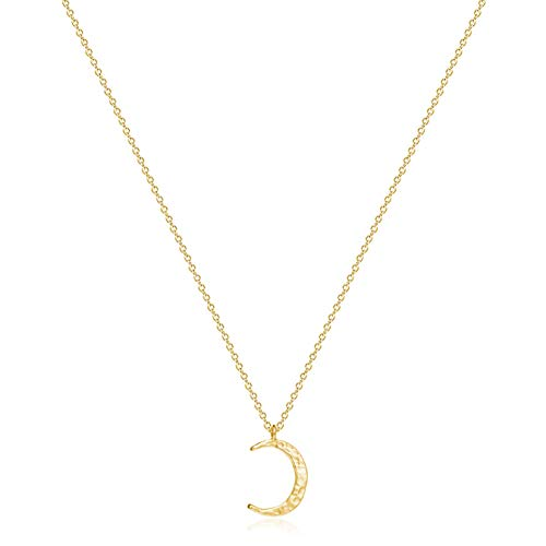 10 best moon necklace gold for 2021