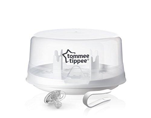 Tommee Tippee Closer to Nature - Esterilizador de vapor para microondas