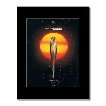 Music Ad World Mini-Poster, Motiv Robert Plant - Fate of Nations, matt, 28,5 x 21 cm