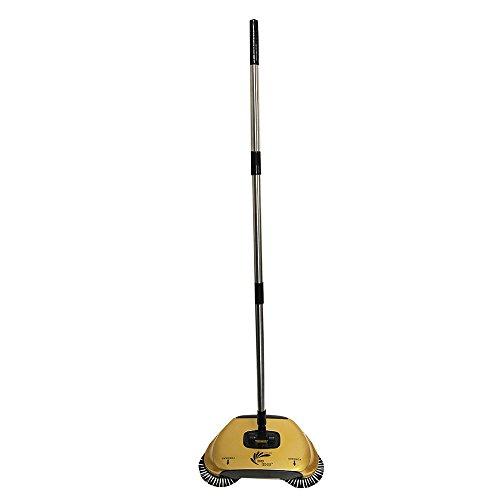 Easy EDGE Gold Lightweight Hardwood Floors Sweeper Metallic