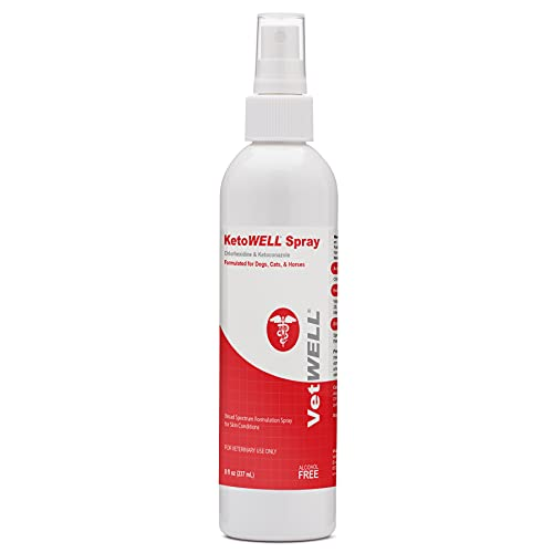 KetoWELL Chlorhexidine & Ketoconazole Antiseptic Medicated Spray