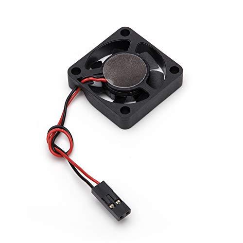 Aukru Mini Fan para Raspberry Pi 4 Modelo B, DC 5V/12V 0.2A Ventilador para Raspberry Pi 4 Modelo B