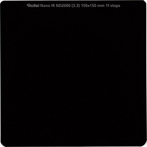 Rollei Filtro rectangular profesional ND 2000 (11 Stops) filtro de densidad neutra vidrio óptico HD 150x150 mm