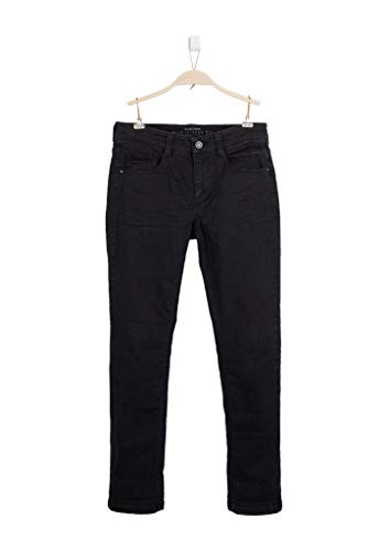 s.Oliver Jungen 75.899.71 Jeans, Schwarz (Grey/Black Denim Stretch 99z8), 158/REG