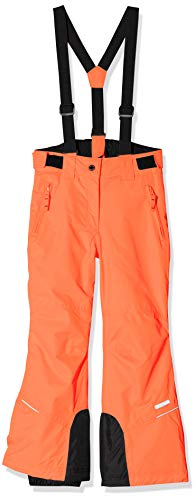 Icepeak Kinder Celia Junior Wadded Hose, Orange, Size 140 cm