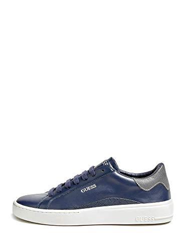 Guess Scarpe Uomo Sneaker MOD. Verona in Pelle Blu Navy U21GU10