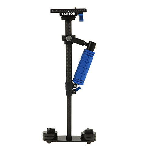 TARION S60T Handheld Stabilizer 24inch/60cm with Quick Release Plate 1/4' and 3/8' Screw for DSLR Cameras Video Camcorder