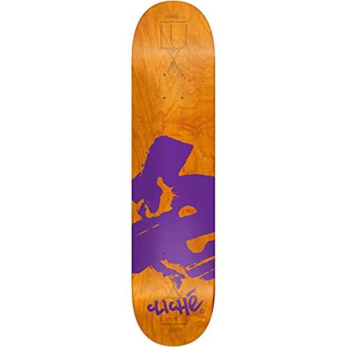 Cliche Europe Skateboard-Deck Orange 8 Zoll