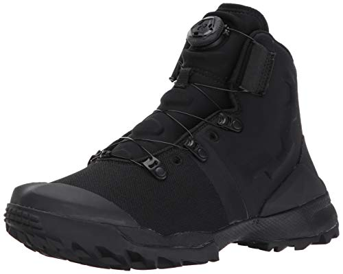 Under Armour Men's Infil Military and Tactical Boot, Black (001)/Black, 12.5