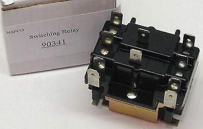 90-341 Switching Relay 120V DPDT type 91 replaces Honeywell R4222D1013