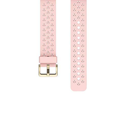 ZKCREATION Watch Band,Cinturino Orologio in Silicone Sgancio Rapido Cinturini di Ricambio per Smartwatch 20mm (Rosa)
